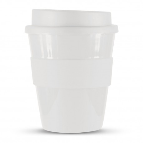White 350ml Express Reusable Coffee Cups