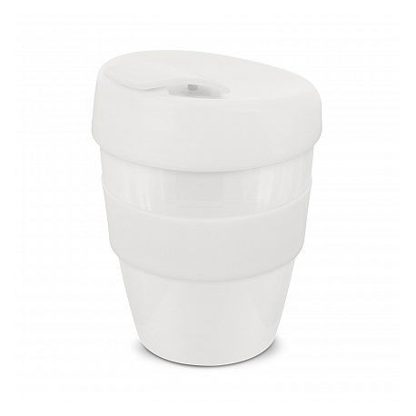 White 350ml Deluxe Reusable Coffee Cups