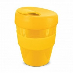 Yellow 350ml Deluxe Reusable Coffee Cups