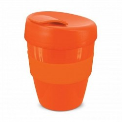 Orange 350ml Deluxe Reusable Coffee Cups