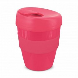 Pink 350ml Deluxe Reusable Coffee Cups