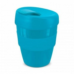 Light Blue 350ml Deluxe Reusable Cups