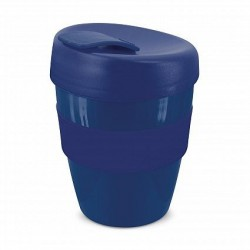 Dark Blue 350ml Deluxe Reusable Cups