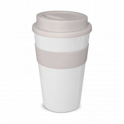 White - Grey 480ml Express Reusable Coffee Cups