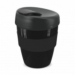 Black 350ml Deluxe Reusable Cups