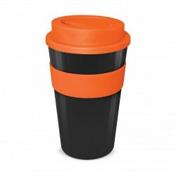 Black - Orange 480ml Express Reusable Coffee Cups