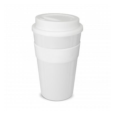 White 480ml Express Reusable Coffee Cups
