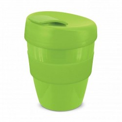 Lime 350ml Deluxe Reusable Cups