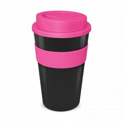 Pink - White 480ml Express Reusable Coffee Cups