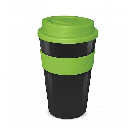 Black - Lime 480ml Express Reusable Coffee Cups