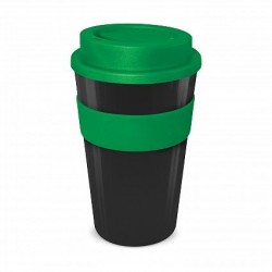 Black - Dark Green 480ml Express Reusable Coffee Cups