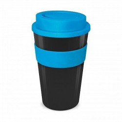 Black - Light Blue 480ml Express Reusable Coffee Cups