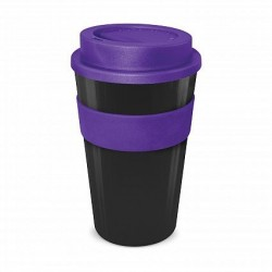 Black - Purple 480ml Express Reusable Coffee Cups