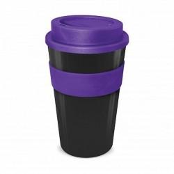 Black - Purple 480ml Express Reusable Coffee Cups