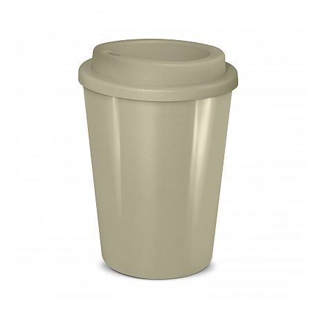 Grey 350ml Cafe Style Reusable Eco Cups