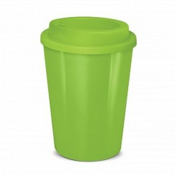 Lime 350ml Cafe Style Reusable Eco Cups