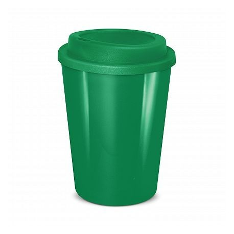 Dark Green 350ml Cafe Style Reusable Eco Cups
