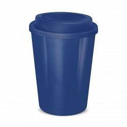 Dark Blue 350ml Cafe Style Reusable Eco Cups