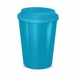 Light Blue 350ml Cafe Style Reusable Eco Cups