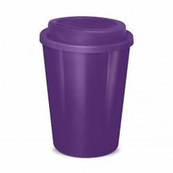Purple  350ml Cafe Style Reusable Eco Cups