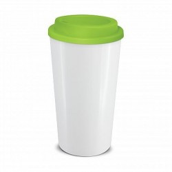 White Lime 480ml Grande Cafe Style Reusable Cups