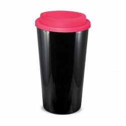 Black Pink 480ml Grande Cafe Style Reusable Cups
