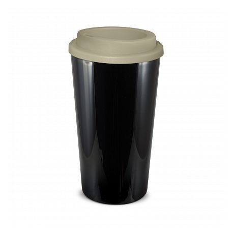 Black Grey 480ml Grande Cafe Style Reusable Cups