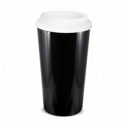 Black White 480ml Grande Cafe Style Reusable Cups