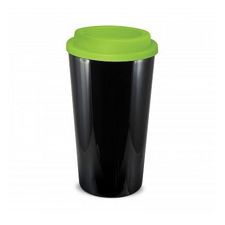 Black Lime 480ml Grande Cafe Style Reusable Cups