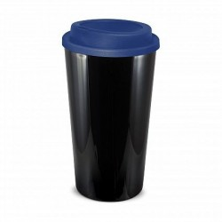 Black Dark Blue 480ml Grande Cafe Style Reusable Cups