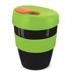 Black Lime Orange 350ml Deluxe Reusable Cups