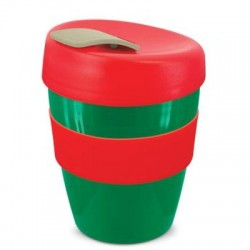 Green Red Grey 350ml Deluxe Reusable Cups