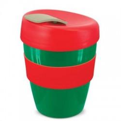 Green Red Grey 350ml Deluxe Reusable Cups
