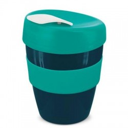 Navy Teal 350ml Deluxe Reusable Cups