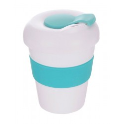 White Teal 320ml Profile Karma Kup