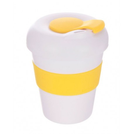White Yellow 320ml Profile Karma Kup