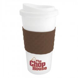 470ml The Coffee Cup Tumbler- Brown
