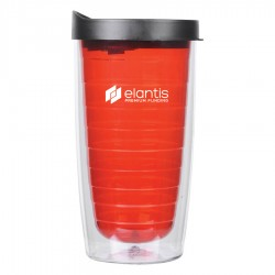 450ml The Ganado Translucent Tumbler - Red