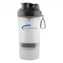 400ml The 3 in 1 Shaker Cup - Clear