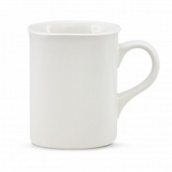250ml White Paris Coffee Mug