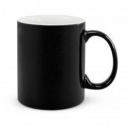 330ml Black Arabica Coffee Mug