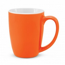 300ml Orange Sorrento Coffee Mug