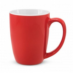300ml Red Sorrento Coffee Mug