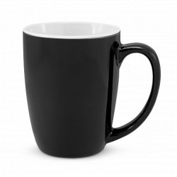 300ml Black Sorrento Coffee Mug