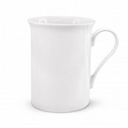 300ml White Pandora Bone China Coffee Mug