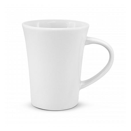 300ml White Tulip Coffee Mug