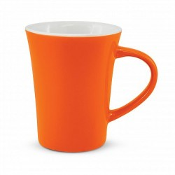 300ml Orange Tulip Coffee Mug