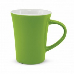 300ml Bright Green Tulip Coffee Mug