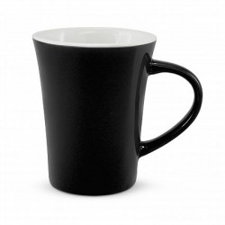 300ml Black Tulip Coffee Mug