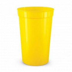 400ml Yellow Stadium Cup